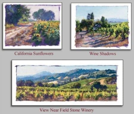 Studies of...Wine Country California