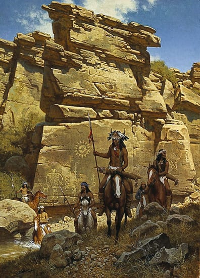 Under the Ancient Sun Sign - Frank McCarthy