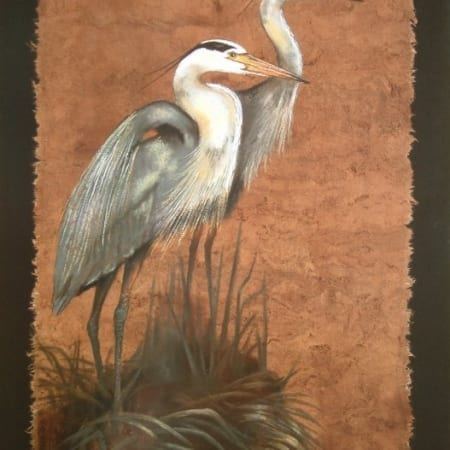 Blue Heron Duo - Monica Stobie