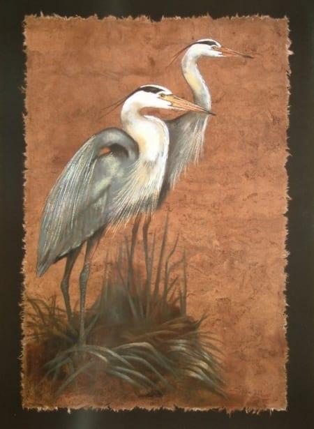 Blue Heron Duo - Monica Stobie