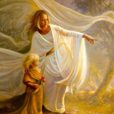 Heavenly Hands - Greg Olsen