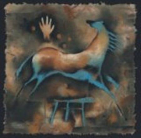 Horse and Man - Monica Stobie