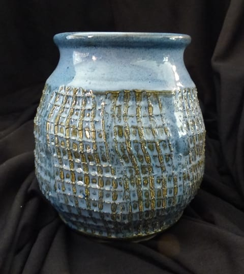 Hand-thrown pottery by Roberta Zimmerman