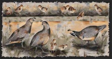 Quail Legends - Monica Stobie - Wenaha Gallery
