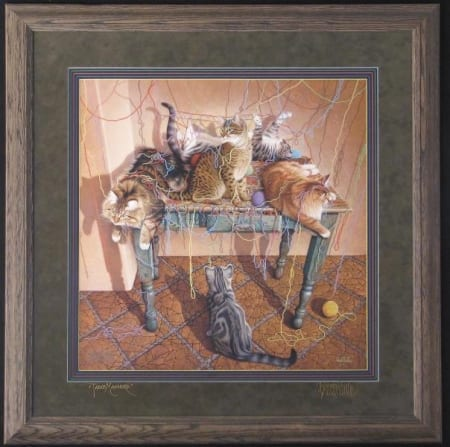 Table Manners Framed