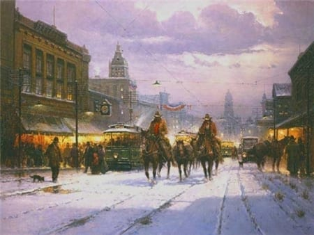 Trailhands and Trolleys - G. Harvey