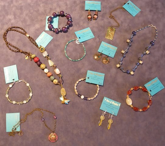 Jewelry by Wenaha Gallery artist Andrea Lyman.