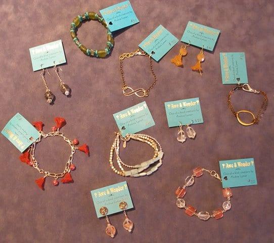 Jewelry by Wenaha Gallery artist Andrea Lyman