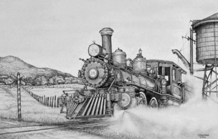 Rolling Steam Virginian Truckee
