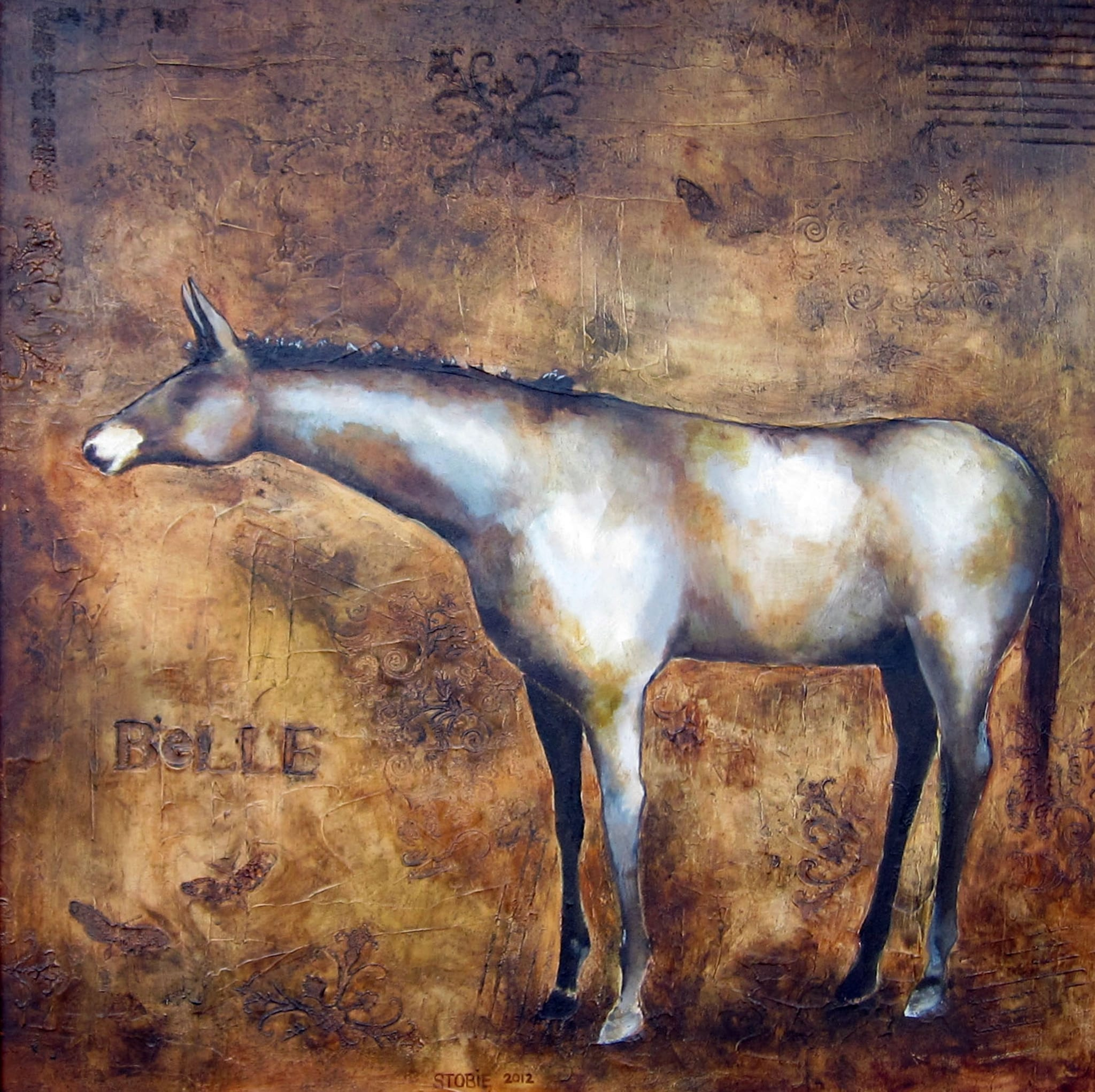 Belle, by Wenaha Gallery artist Monica Stobie.