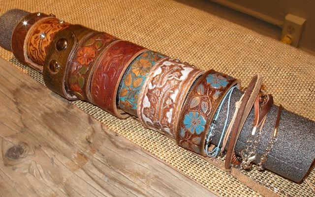Bracelets by Anna Steinhoff, guest artist at Wenaha Gallery