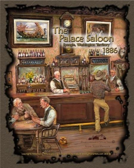 Palace Saloon - Nona Hengen