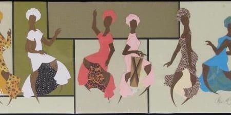 African Dancers - Cheri McGee