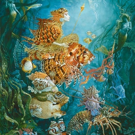 Fantasies of the Sea - James Christensen