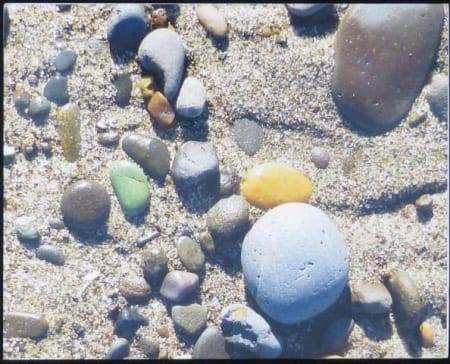 Multi-colored Pebbles - Gary Wessels-Galbreath