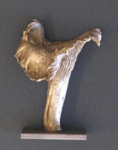Bronze Chanterelle by Wenaha Gallery artist Andy de la Maza