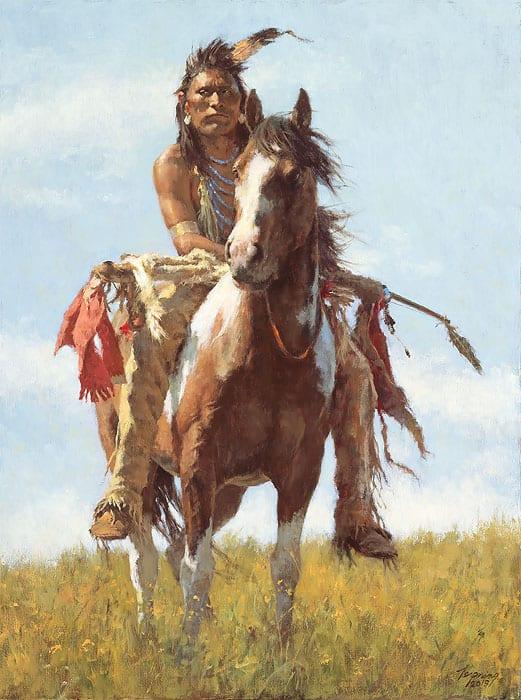Cowboy Paintings For Sale Www Art Uk