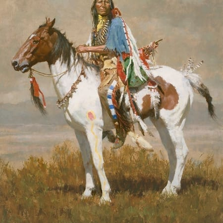 Spirit of the Plains - Howard Terpning