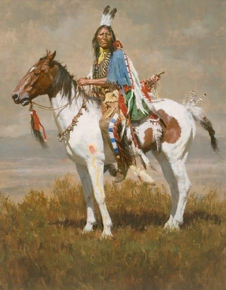 Spirit of the Plains - Howard Terpning