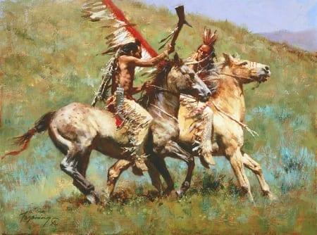 Tribal Warfare - Howard Terpning