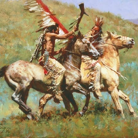 Tribal Warfare - Howard Terpning