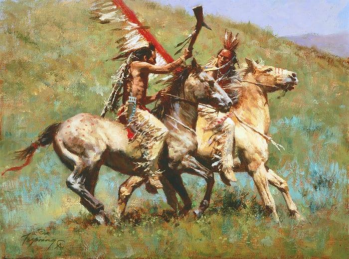 Tribal Warfare | Wenaha Gallery