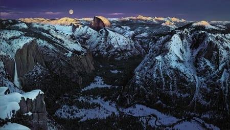 Yosemite Alpenglow - Stephen Lyman