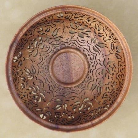 KOA wood bowl