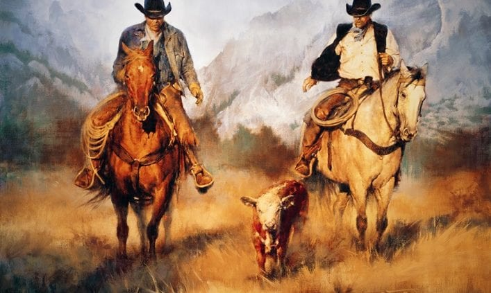 Cowboys Still Exist -- The Western Art of Chris Owen