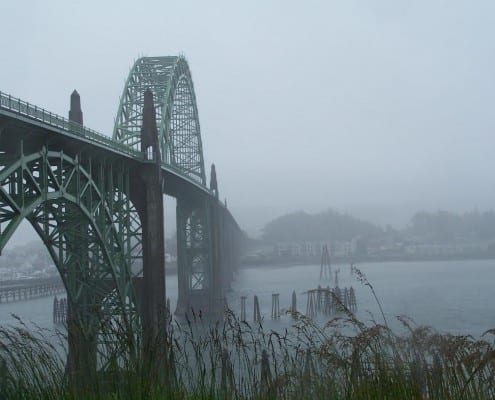 Yaquina Bay Bridge, fine art photography by Patricia Fleming