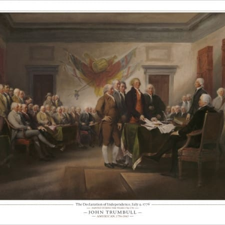 Declaration of Independence - John Trumbull