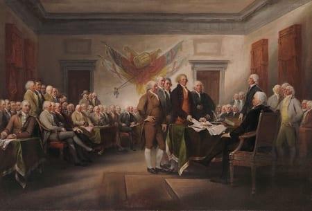 Declaration of Independence - John Trumbull