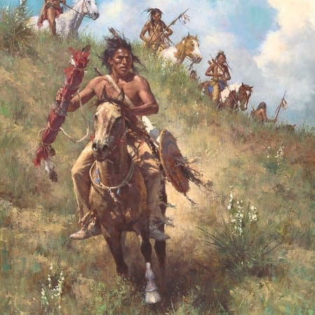 Honor of Being Pipe Carrier - Howard Terpning