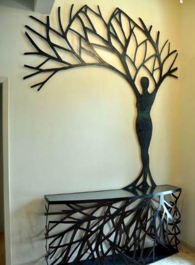 Lady Tree, side table furniture, by Joseph Rastovich