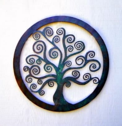 Tree of Zen, wall art by Joseph Rastovich
