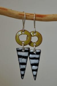 Earrings by Lynn Gardner