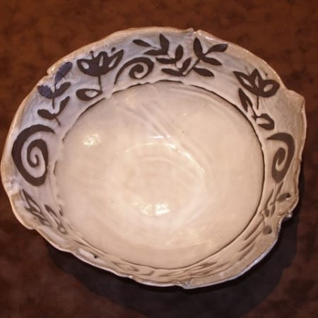 Old World Colossal Bowl in Chocolate Clay
