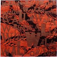 Walla VIII letterpress print by Walla Walla artist Anne Haley