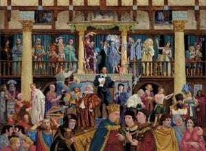 Shakespeare world is a stage james christensen wenaha gallery
