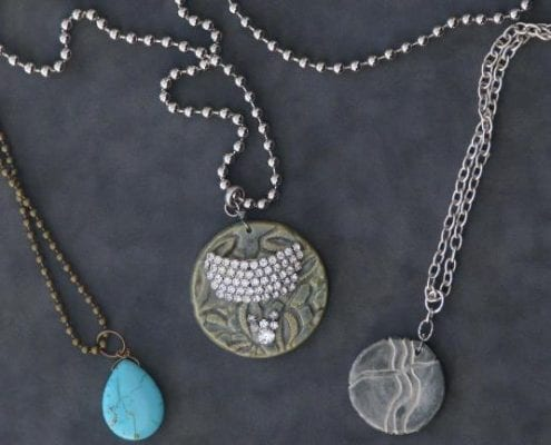 Tunisian inspired necklaces by Pamela Good Walla Walla
