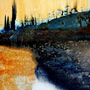 scrapyard photograph abstract landscape LuAnn Ostergaard