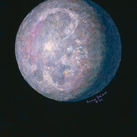 Monet's Moon Alan Bean