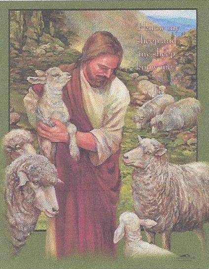 He Tends His Flock - Nona Hengen