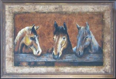 Three Amigos - Monica Stobie