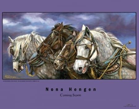 Coming Storm - Nona Hengen