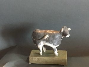 cow sculpture by dentist artist shelia coe walla walla