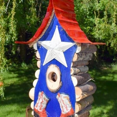 American Western (birdhouse)