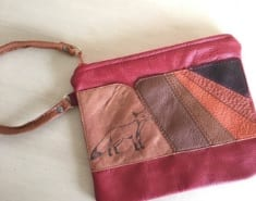 leather wallet handcrafted shelby sneva bellingham artist inspired by nanna
