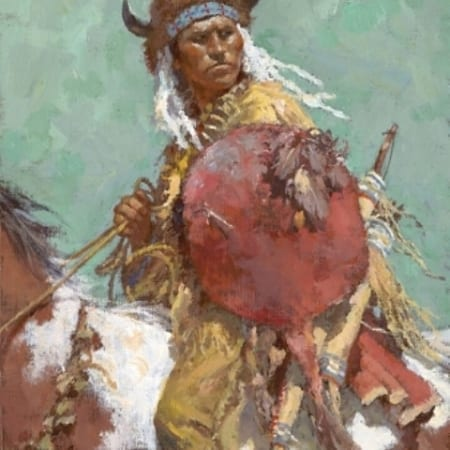 Cheyenne Red Shield - Howard Terpning