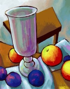 chalice drawing colorful michael rastovich illustration talented trio
